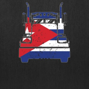 Cuban Trucker Shirt Cuba Flag Truckers T Shirts - Tote Bag