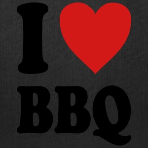 I love BBQ (variable colors!) - Tote Bag