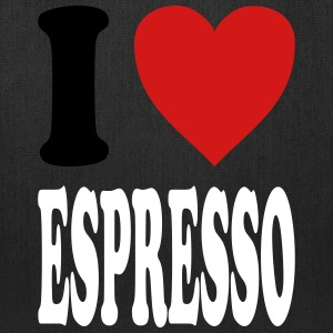 I love Espresso (variable colors!) - Tote Bag