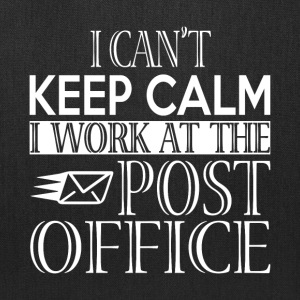 I Work At The Post Office T Shirt - Tote Bag