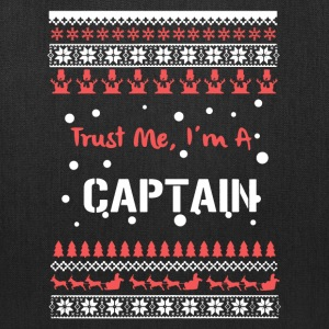 Captain Christmas Shirt - Tote Bag