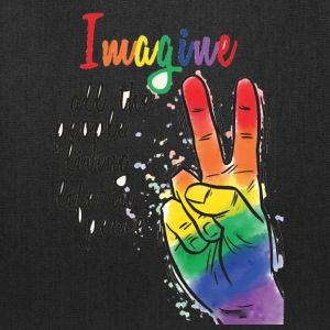 LGBT Pride Imagine - Tote Bag