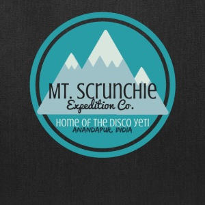 Mt Scrunchie Expedition Co: Home of the Disco Yeti - Tote Bag