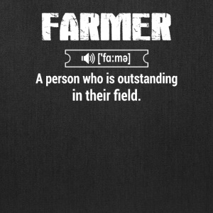 Define Farmer T Shirts - Tote Bag