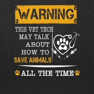 Save animals all the time - Tote Bag