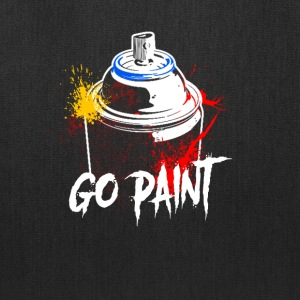 Go Paint - Tote Bag