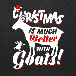 Christmas Is Much Goatss - Tote Bag