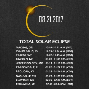 Total Solar Eclipse 2017 - Tote Bag