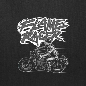 Flame Racer. Bike race here and now. - Tote Bag