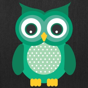 GREEN OWL - Tote Bag