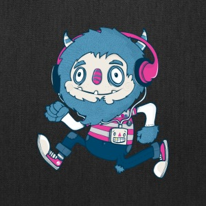 Funky Monster Beats - Tote Bag