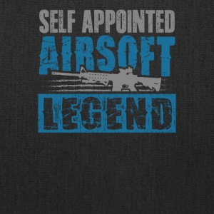 Self Appointed Airsoft Legend Shooters T-Shirt - Tote Bag