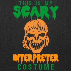 Halloween This My Scary Interpreter Costume - Tote Bag