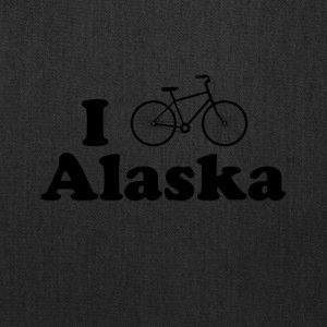 alaska biking - Tote Bag