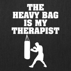 The Heavy Bag is My Therapist - Tote Bag
