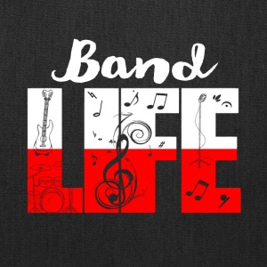 band life shirt - Funny Gifts for Music Lovers - Tote Bag