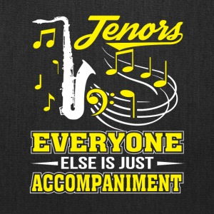 Tenor Singer Everyone Is Accompaniment - Tote Bag