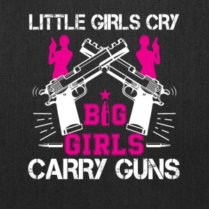 Second Amendment Big Girl Big Girl Carry Gun - Tote Bag