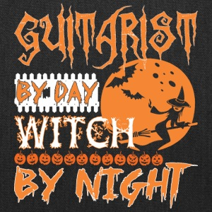 Guitarist By Day Witch By Night Halloween - Tote Bag