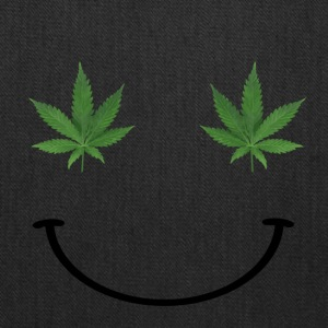 Ganja Smiley Face - Tote Bag