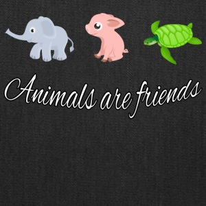 Animals are friends - Tote Bag