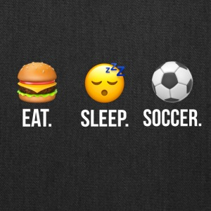 Eat Sleep Soccer - Tote Bag