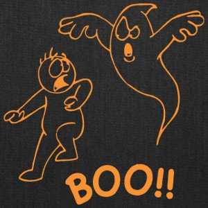Boo Scary Halloween - Tote Bag