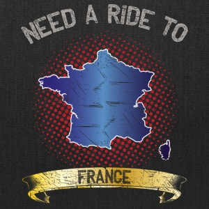 Need A Ride To France ➢ Travel Tramper - Tote Bag