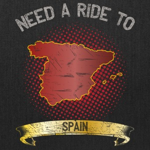 Need A Ride To Spain ➢ Travel Tramper - Tote Bag
