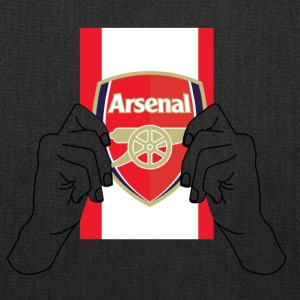 arsenal football team flag - Tote Bag