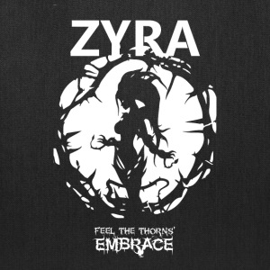 "Zyra ""Feel the thorns, Embrace"" - Tote Bag"