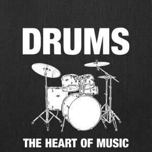Drums The Heart Of Music - Tote Bag