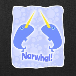 Double Narwhal Duel - Tote Bag
