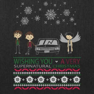 WISHING YOU A VERY SUPERNATURAL CHRISTMAS - Tote Bag