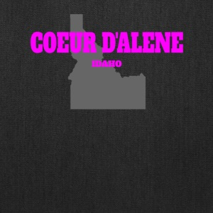 IDAHO COEUR D ALENE US STATE EDITION PINK - Tote Bag