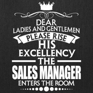 SALES MANAGER - EXCELLENCY - Tote Bag