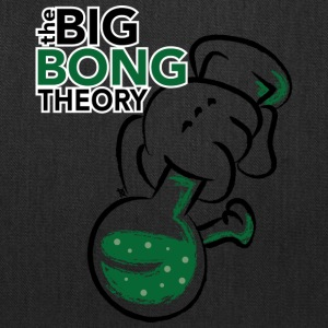 Cannabis bong - the big bong theory - Tote Bag