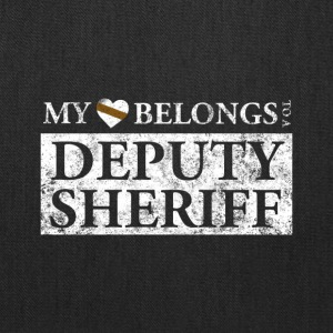 My Heart Belongs To A Deputy Sheriff T Shirt - Tote Bag