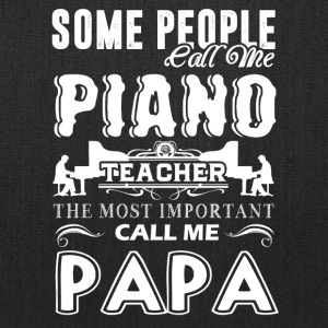 Piano Teacher Papa Shirts - Tote Bag
