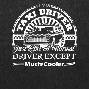 Taxi Driver Cooler Shirt - Tote Bag