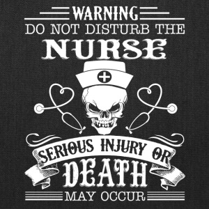 Nurse Tee Shirt - Tote Bag