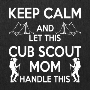 Let This Cub Scout Mom Handle This T Shirt - Tote Bag