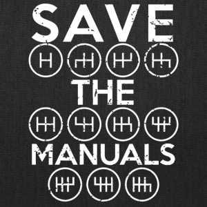 Save the Manuals shirt - Tote Bag