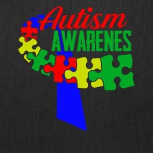 Autism Awareness Ribbon Tshirts - Tote Bag