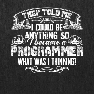 Silly Programmer Tshirt - Tote Bag