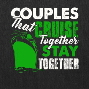 Couples Cruise Together Shirt - Tote Bag