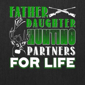 Father And Daughter Hunting Partners Shirt - Tote Bag