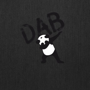 DAB panda dabbing football touchdown mooving dance - Tote Bag