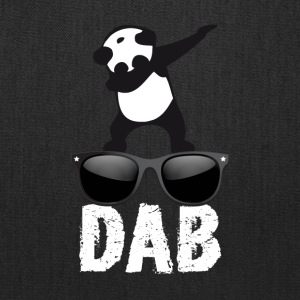 dab panda glaces dabbing football touchdown dance - Tote Bag