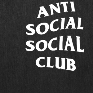 Anti Social Club - Tote Bag